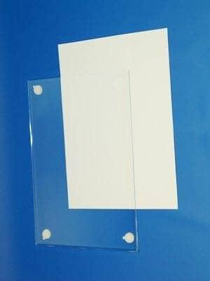 View Portacarteles de metacrilato adhesivos