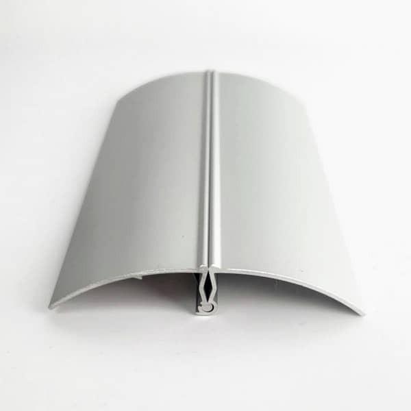 Base de aluminio para portacarteles 297 mm Caja de 20 unidades