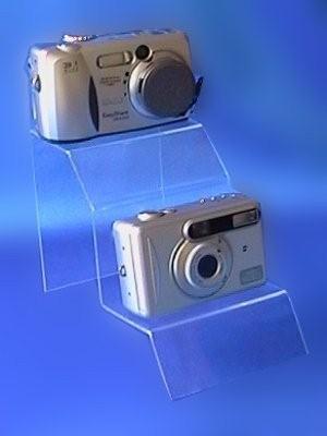Expositor para cámaras doble 402001
