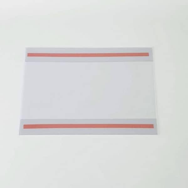 Portacarteles adhesivo de PVC A4 - Horizontal