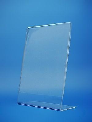 Portacartel de plastico rigido A4