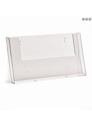 Portafolletos sobremesa A4 horizontal