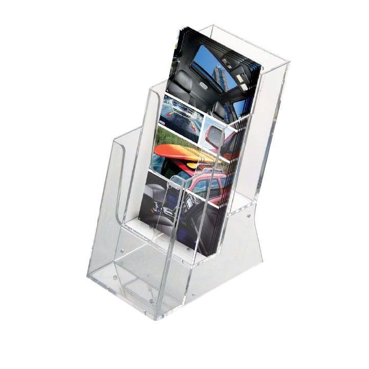 Portafolletos de sobremesa multiple  1/3 A4 x 3 Caja de 20 unidades