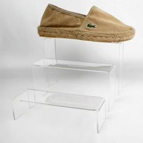 Pack de expositores de metacrilato para calzado 812044