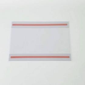 Portacarteles adhesivo de PVC A5 - Horizontal